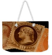 Magnification Of Classic 19th Century Weekender Tote Bag
