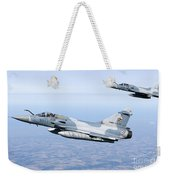 Mirage 2000c Of The French Air Force Weekender Tote Bag