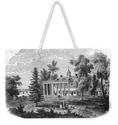 Mount Vernon Weekender Tote Bag
