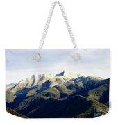 Ojai Valley With Snow Weekender Tote Bag