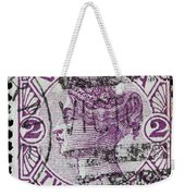 old Australian postage stamp Weekender Tote Bag