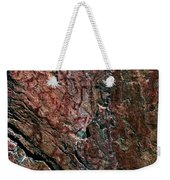 Painted Rocks At Hossa With Stone Age Paintings Weekender Tote Bag