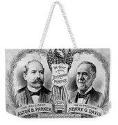 Presidential Campaign, 1904 Weekender Tote Bag