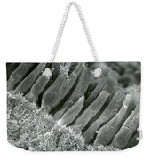 Rods And Cones In Retina Weekender Tote Bag by Omikron