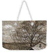 Rustic Hillside Barn Weekender Tote Bag