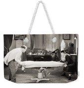 Silent Film Still: Doctor Weekender Tote Bag