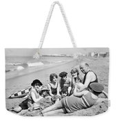 Silent Still: Bathers Weekender Tote Bag