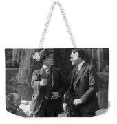 Silent Still: Two Men Weekender Tote Bag