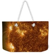 Solar Activity On The Sun Weekender Tote Bag