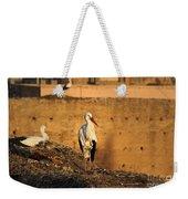 Storks In Marrakech Weekender Tote Bag