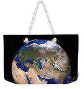 The Blue Marble Next Generation Earth Weekender Tote Bag by Stocktrek Images