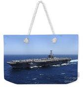 The Nimitz-class Aircraft Carrier Uss Weekender Tote Bag