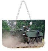 The Piranha IIic Of The Belgian Army Weekender Tote Bag