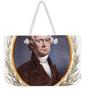 Thomas Jefferson (1743-1826): Weekender Tote Bag