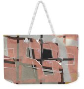 Urban Abstract San Diego Weekender Tote Bag