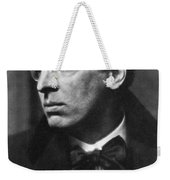 William Butler Yeats Weekender Tote Bag