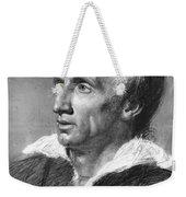 William Wordsworth Weekender Tote Bag