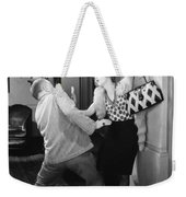 Silent Still: Man & Woman Weekender Tote Bag