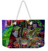 636 People Masks Weekender Tote Bag