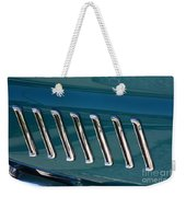 65 Plymouth Satellite Accent-8509 Weekender Tote Bag