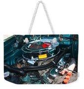 65 Plymouth Satellite Engine-8482 Weekender Tote Bag