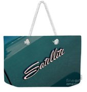 65 Plymouth Satellite Logo-8502 Weekender Tote Bag