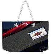 67 Black Camaro Ss Bow Tie Weekender Tote Bag