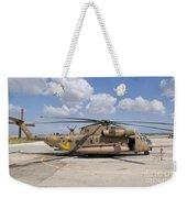 A Sikorsky Ch-53 Yasur Of The Israeli Weekender Tote Bag