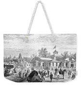Centennial Fair, 1876 Weekender Tote Bag by Granger
