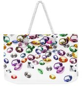 Colorful Gems Weekender Tote Bag