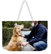 Dog Grooming Weekender Tote Bag
