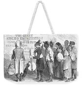 Emancipation Proclamation Weekender Tote Bag by Granger