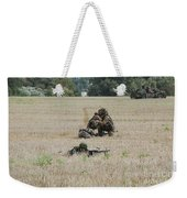 Evacuation Of A Wounded Soldier By An Weekender Tote Bag by Luc De Jaeger