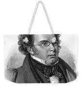 Franz Schubert (1797-1828) Weekender Tote Bag