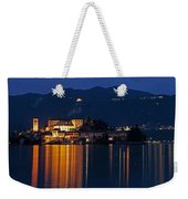 Island Of San Giulio Weekender Tote Bag by Joana Kruse