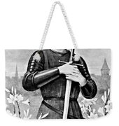 Joan Of Arc, French National Heroine Weekender Tote Bag