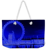 London Eye Art Weekender Tote Bag