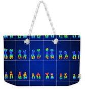 Male Karyotype Weekender Tote Bag