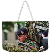 Members Of A Recce Or Scout Team Weekender Tote Bag by Luc De Jaeger