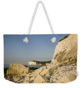 Morning At The White Cliffs Of Dover Weekender Tote Bag