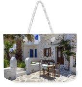 Paros - Cyclades - Greece Weekender Tote Bag