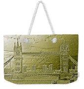 Tower Bridge Art Weekender Tote Bag