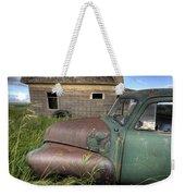 Vintage Farm Trucks Weekender Tote Bag