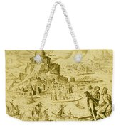 7 Wonders Of The World, Lighthouse Weekender Tote Bag