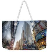 7th Street Nyc  Weekender Tote Bag