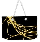 Abstract Lighting Effect  Weekender Tote Bag by Setsiri Silapasuwanchai