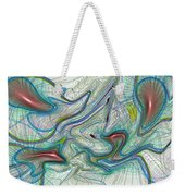 Abstract Pattern Art Weekender Tote Bag