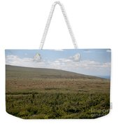 Alpine Tundra Weekender Tote Bag
