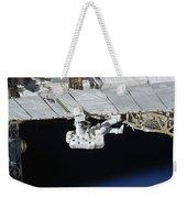 Astronaut Participates Weekender Tote Bag