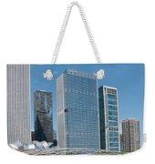 Chicago City Scenes Weekender Tote Bag